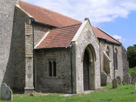 St Peters Church Porch After