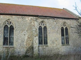 South Side, Chancel and Nave, before