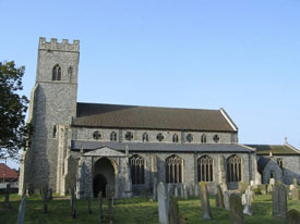 Church of All Saints, Upper Sheringham
